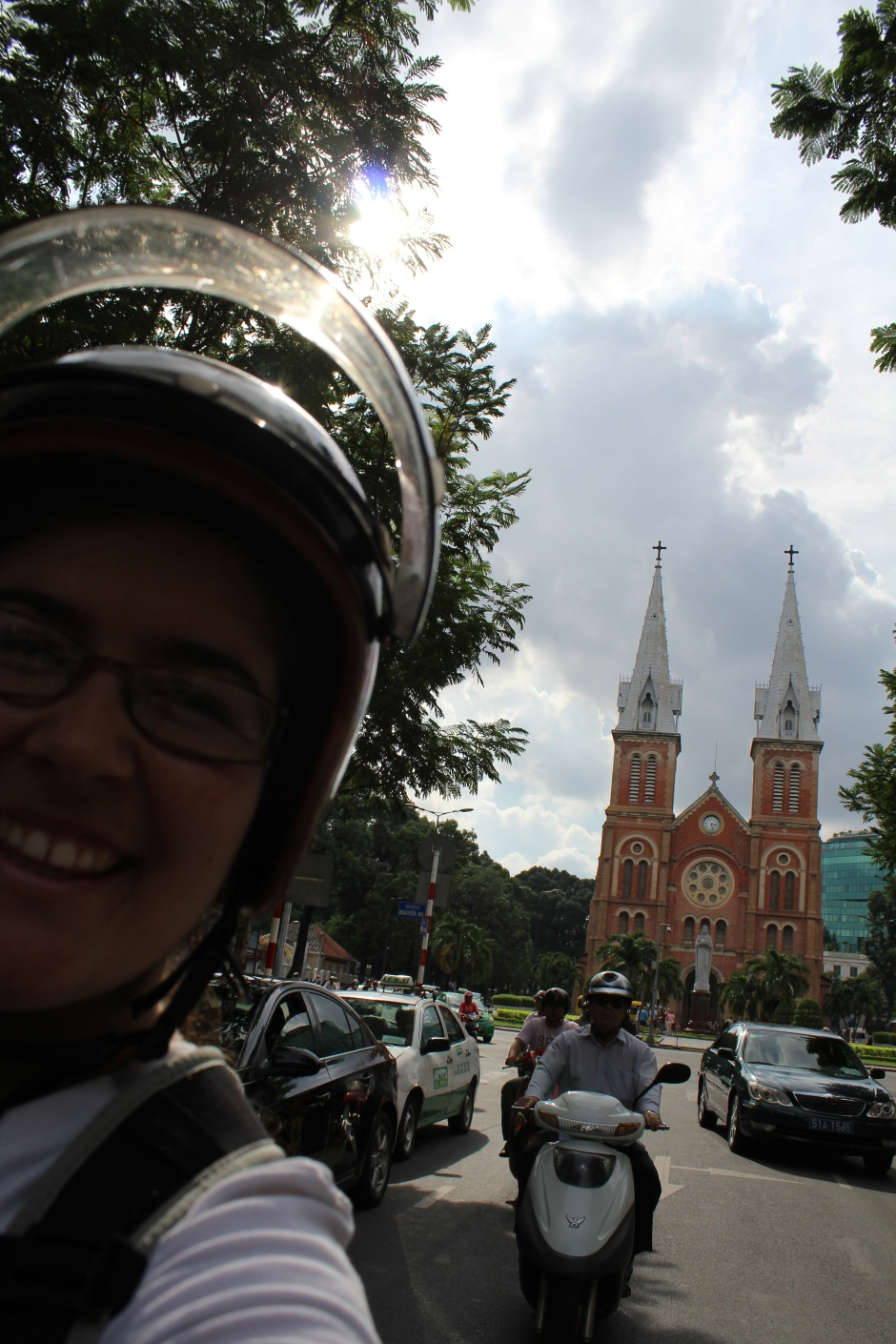 First experience on a Vietnamese motorcycle! :)