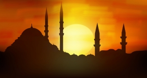 Not my picture, but perfect shot of the skyline of minarets. This picture is from www.beachcomberpete.com. :)