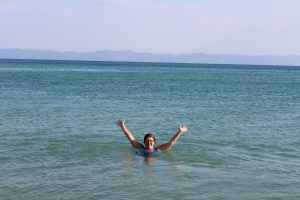 Swimming in the Aegean Sea!